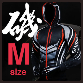 シマノ(SHIMANO)のSHIMANO シマノ ウエア ブラック Mサイズ 海外製(ウエア)