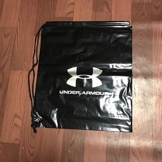 アンダーアーマー(UNDER ARMOUR)のアンダーアーマー ショップ袋 5枚組 ナップサック ボディーバック バックパック(ショップ袋)