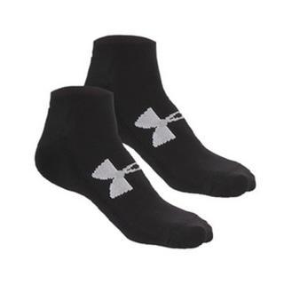 アンダーアーマー(UNDER ARMOUR)のアンダーアーマー ソックス MD ブラック 25 27 靴下 ローカットソックス(ソックス)