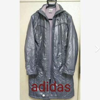 アディダス(adidas)のアディダスadidas☆レディースベンチコートロングコート(ウェア)