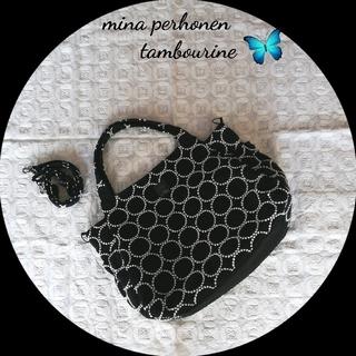 ミナペルホネン(mina perhonen)のミナペルホネン❦マザーズバッグL❦タンバリンネイビー❦ハンドメイド(バッグ)