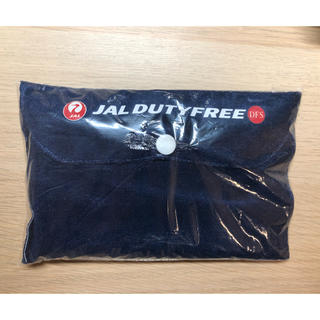 JAL(日本航空) - JAL オリジナル エアーネックピロー 免税店 予約特典 ノベルティ 限定非売品