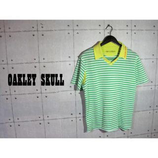 Oakley - OAKLEY ボーダー ポロシャツ