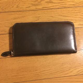 ワンエルディーケーセレクト(1LDK SELECT)のマニウノ コードバン 長財布(長財布)