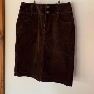 ハニーズ(HONEYS)のコーデュロイスカート デニムタイトスカート デニムスカート(ひざ丈スカート)