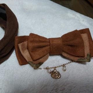 アクシーズファム(axes femme)のアクシーズ 髪飾り2種類(その他)