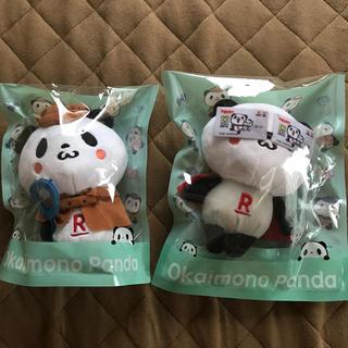 ラクテン(Rakuten)の楽天お買い物パンダぬいぐるみ  2個セット(ぬいぐるみ)