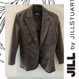 ジルバイジルスチュアート(JILL by JILLSTUART)のJILL by JILLSTUART  カーキ×ブラック 長袖ジャケット S(テーラードジャケット)