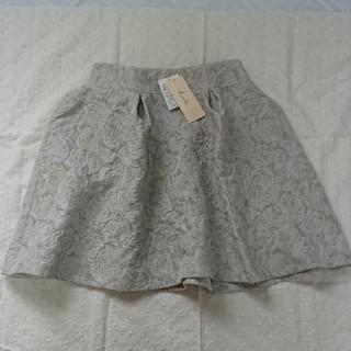 ダズリン(dazzlin)の★新品 薔薇柄スカート(ひざ丈スカート)
