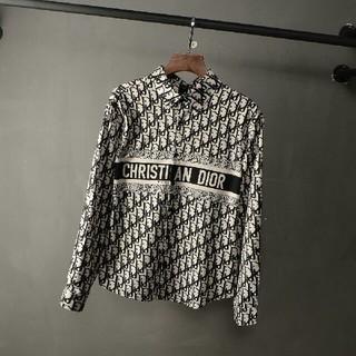 ディオール(Dior)のお勧め Diorデイオール シャツ チェック メンズ 秋コーデ 新品(シャツ)