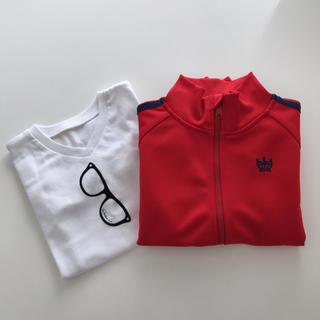 ロデオクラウンズワイドボウル(RODEO CROWNS WIDE BOWL)のロデオクラウンズ キッズ Tシャツ ジャージ セット(Tシャツ/カットソー)