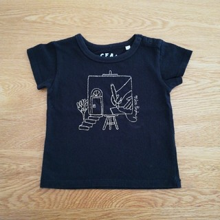 MARKEY'S - Ocean&Ground 半袖Tシャツ 刺繍 80cm