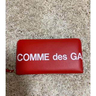 コムデギャルソン(COMME des GARCONS)のコムデギャルソン ロゴ 長財布(財布)