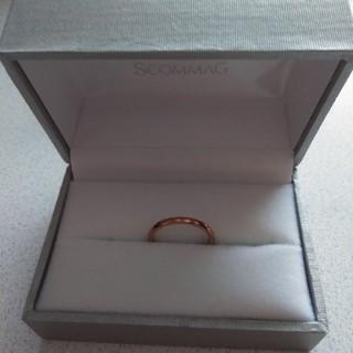 ピンクゴールド指輪(7号)(リング(指輪))