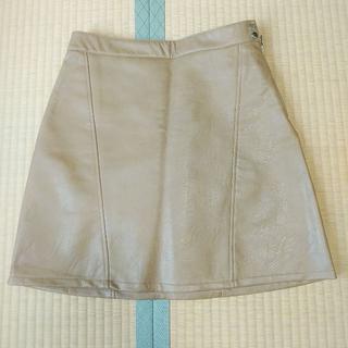 ZARA - ZARA フェイクレザー スカート