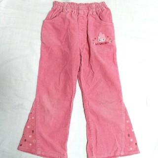 サンリオ(サンリオ)のマイメロディ コーデュロイパンツ ズボン 女児 120(パンツ/スパッツ)
