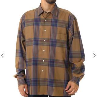 コモリ(COMOLI)のAURALEE 19aw チェックシャツ(シャツ)
