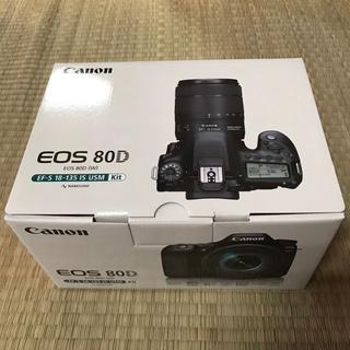 キヤノン(Canon)の≪新品・送料無料≫3台 Canon EOS 80D EF-S18-135(デジタル一眼)