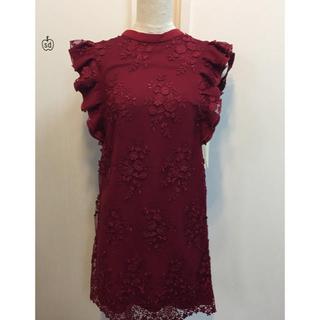 リリーブラウン(Lily Brown)のリリーブラウン  総レースドレス(ミディアムドレス)