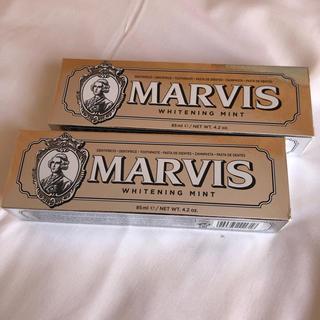 MARVIS マービス  ホワイトニングミント 85g2個セット(歯磨き粉)