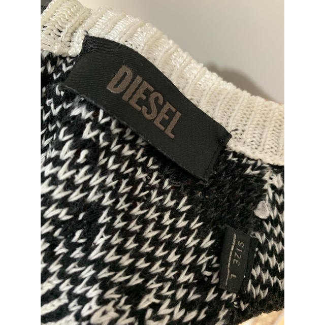DIESEL(ディーゼル)のDIESEL サマーニット ワンピース レディースのワンピース(ひざ丈ワンピース)の商品写真