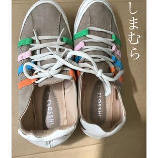 シマムラ(しまむら)のCLOSSHI レディース シューズ 靴 しまむら スニーカー M(スニーカー)