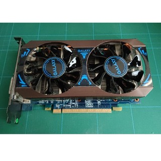 ギャラクシー(Galaxy)の【中古】GALAXY GeForce GTX760 OC 2GB DDR5(PCパーツ)
