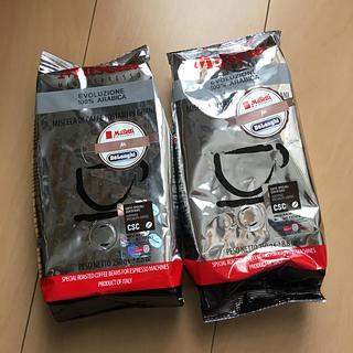 デロンギ(DeLonghi)の《値下げ》デロンギ コーヒー豆 2袋(コーヒー)