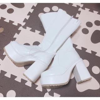 フォリクラッセ 厚底ロングブーツ Sサイズ 即購入OK!(靴/ブーツ)