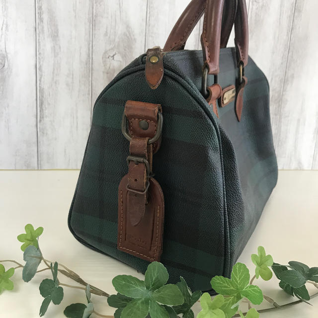 POLO RALPH LAUREN(ポロラルフローレン)のpolo Ralph Lauren チェックバック。 レディースのバッグ(ボストンバッグ)の商品写真