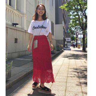GRACE CONTINENTAL - グレースコンチネンタル♡コード刺繍ロゴトップ