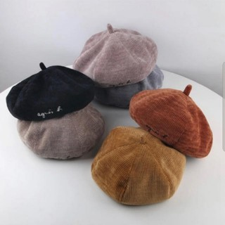 アニエスベー(agnes b.)のアニエスベー ベレー帽 パロディ キッズ帽子(帽子)