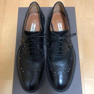ドゥーズィエムクラス(DEUXIEME CLASSE)の※【新品】SARTORE サルトル スタッズ レースアップ35.5(ローファー/革靴)