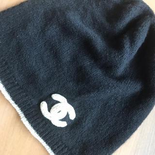 シャネル(CHANEL)のシャネル カシミヤニット帽(ニット帽/ビーニー)