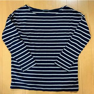 ジャーナルスタンダード(JOURNAL STANDARD)の【JOURNAL STANDARD】ボーダー7分丈Tシャツ size Free(Tシャツ(長袖/七分))