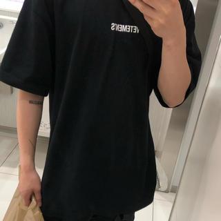 バレンシアガ(Balenciaga)のvetements Tシャツ(Tシャツ(半袖/袖なし))