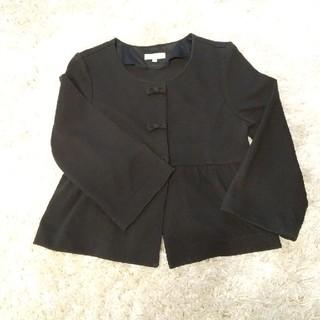 プーラフリーム(pour la frime)のプーラフリーム ジャケット 7分袖 黒(テーラードジャケット)