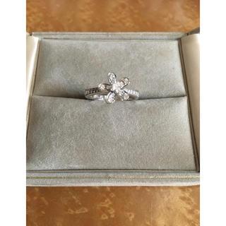 ヴァンクリーフアンドアーペル(Van Cleef & Arpels)の正規品 ヴァンクリーフ ソクラテス ダイヤリング K18 WG 50サイズ(リング(指輪))