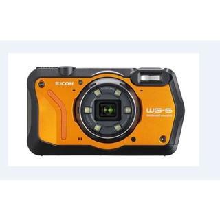リコー(RICOH)のリコー WG-6 オレンジ(コンパクトデジタルカメラ)