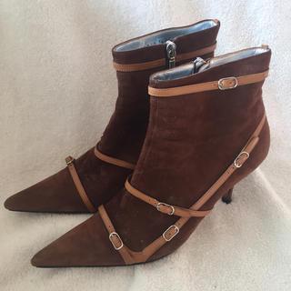 ドルチェアンドガッバーナ(DOLCE&GABBANA)のD&Gショートブーツ(ブーツ)