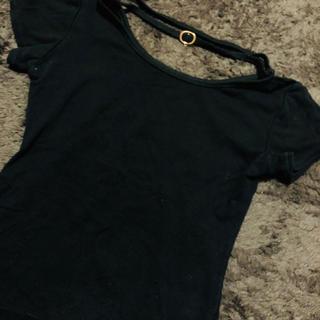 アンズ(ANZU)のネックストラップTシャツ(Tシャツ(半袖/袖なし))
