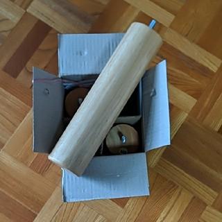ムジルシリョウヒン(MUJI (無印良品))の無印良品 ベット 木製脚 26cm muji(その他)