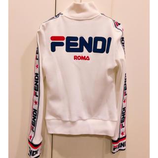 フェンディ(FENDI)のFENDIジップスウェット、明日花キララ着用fendimania(トレーナー/スウェット)