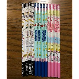 スヌーピー(SNOOPY)のSNOOPY 2B 鉛筆3種 12本セット(鉛筆)