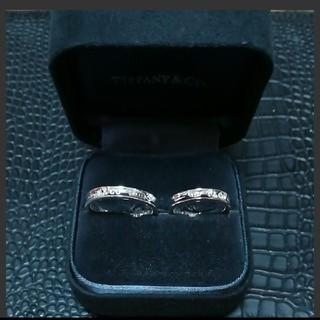 ティファニー(Tiffany & Co.)のティファニー 1837 ナローペアリング(リング(指輪))