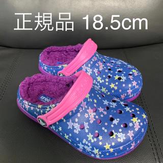 クロックス(crocs)の新品 crocs   サンダル グラフィック 18.5㎝ 定価円3780円(スニーカー)