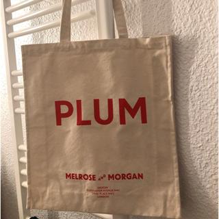 ビューティアンドユースユナイテッドアローズ(BEAUTY&YOUTH UNITED ARROWS)のMelrose and Morgan PLUM Canvas Bag (トートバッグ)