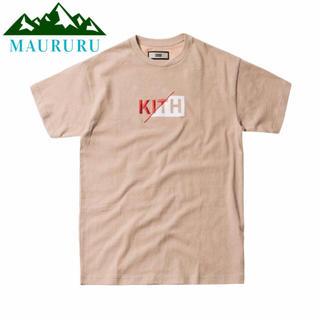 正規品 KITH キス スラッシュクラシックロゴ Tシャツ 刺繍