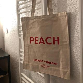 ビューティアンドユースユナイテッドアローズ(BEAUTY&YOUTH UNITED ARROWS)のMelrose and Morgan PEACH Canvas Bag (トートバッグ)