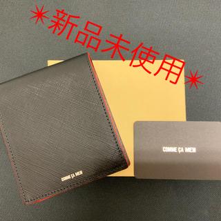 コムサメン(COMME CA MEN)のCOMME CA コムサ メン 二つ折財布  ♦︎新品未使用♦︎(折り財布)